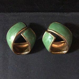Vintage 1980's earrings